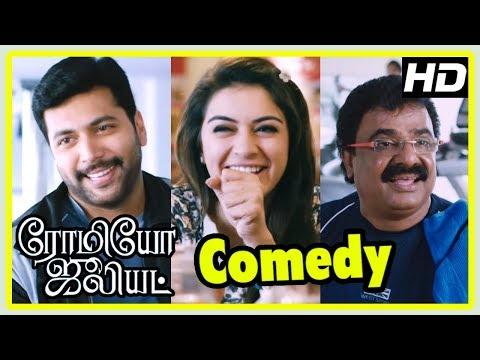 Latest Tamil Comedy Scenes | Romeo Juliet Comedy Scenes | Part 1 | Jayam Ravi | VTV Ganesh | Hansika