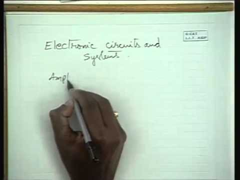 Basic Electronics   IIT Kharagpur Part 01 of 38