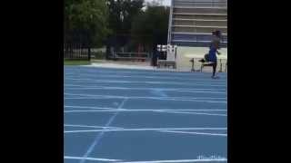 Virgin Islands Athletics Athlete Training for the 2015 Pan Am Games