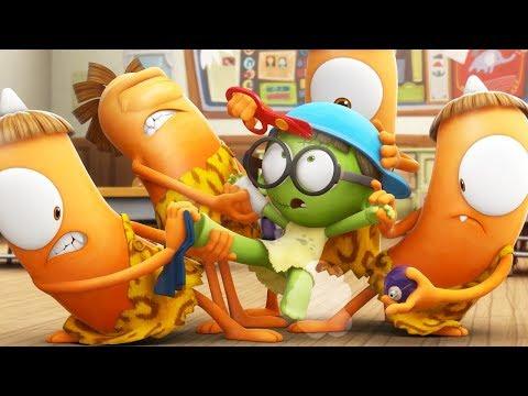 Cartoon | Spookiz | Kebi Gives Zizi A Makeover | 스푸키즈 | Funny Animated Cartoon For Kids