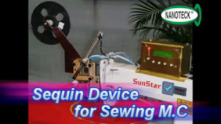 SEWING SEQUIN DEVICE PERFORMANCE