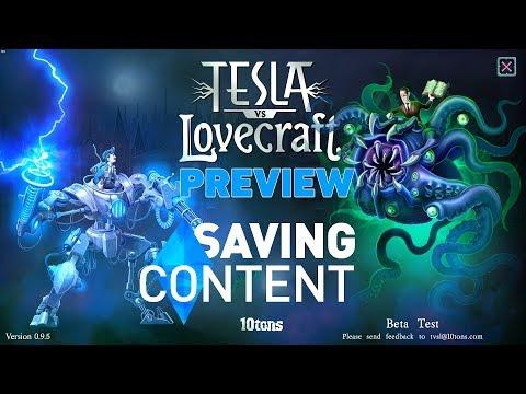 Tesla vs Lovecraft Preview |
