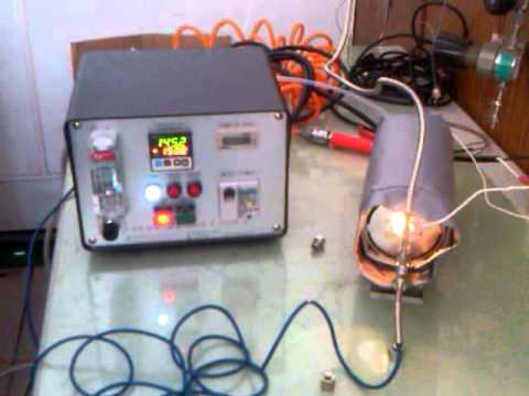 Vélios hot gas generator heating cycle