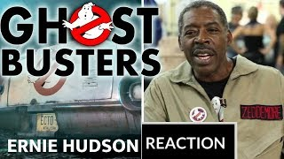 GHOSTBUSTERS 2020 Official Ernie Hudson Reaction