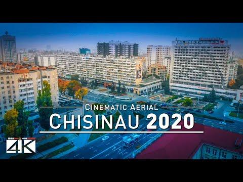 【4K】Chisinau from Above - Capital of MOLDOVA 2020 | Cinematic Aerial Film