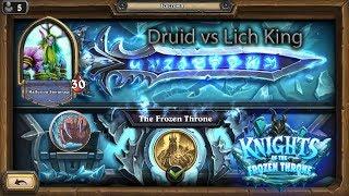Hearthstone: Druid vs Lich King ez jade druid