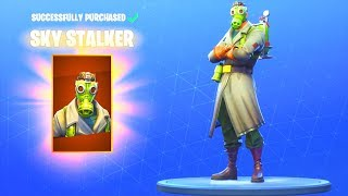 *NEW* SKY STALKER SKIN!! Fortnite Battle Royale