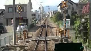 【前面展望】伊豆箱根鉄道 修善寺→三島(3)