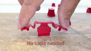 Repeat youtube video Tuscan SeamClip™  Promo 2014 - The Fastest Tile Leveling system ever made
