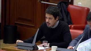 Segundo González en la Comisión de Hacienda y Función Pública el 31 de Enero