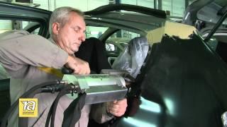 Применение точечной сварки в кузовном ремонте(Петровский Автоцентр знакомит с технологией точечной сварки, применяемой при кузовном ремонте. Чем отлича..., 2011-09-09T12:35:49.000Z)