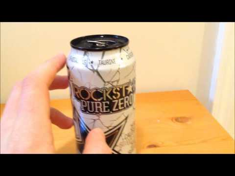 Rockstar Pure Zero Silver Ice - Energy Drink Review #121