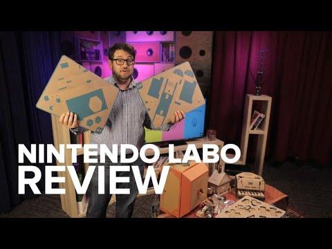 .Nintendo Labo 誕生始末:任天堂這個紙皮玩具還真不是瞎搞的