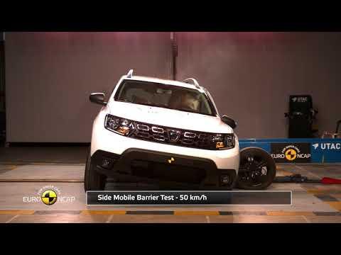 Euro NCAP Crash Test of Dacia Duster
