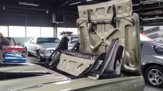 Cinématique de capote électriques Ford Thunderbird 66autoshop