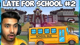 When Techno Gamerz Is Late For School(Part - 2) | Parkour