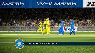 vuclip India vs Australia - 3rd T20 Match - Don Bradman Cricket 17