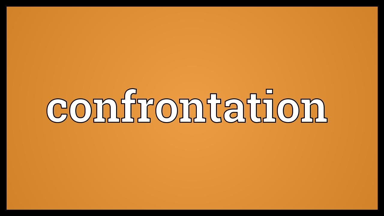Confrontation - what is the concept, features and rules 71