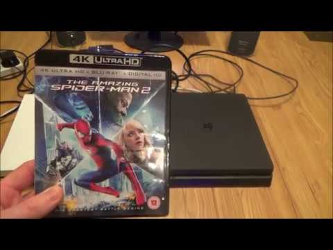What Happens When you put a 4K Ultra HD Blu-ray disc into a PlayStation 4 Slim ( PS4 Slim )