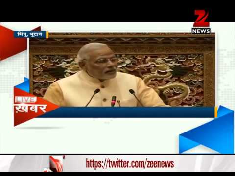 Narendra Modi addresses Bhutan Parliament, says India committed to good neighbourly relations