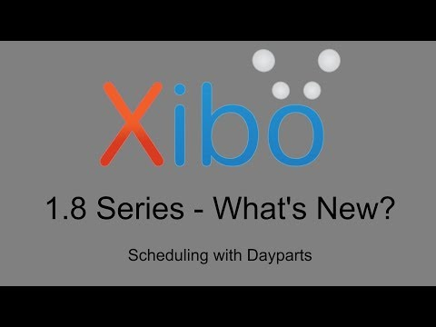 What's New in 1.8 - 4. Scheduling with Dayparts