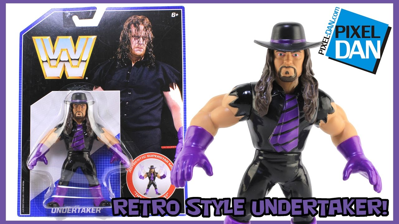 "The Undertaker Retro ""Hasbro Style"" WWE Mattel Action ..."