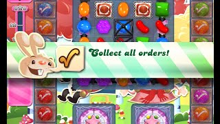 Candy Crush Saga Level 1193 walkthrough (no boosters)
