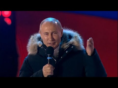 Vladimir Putin wins Russian election in landslide
