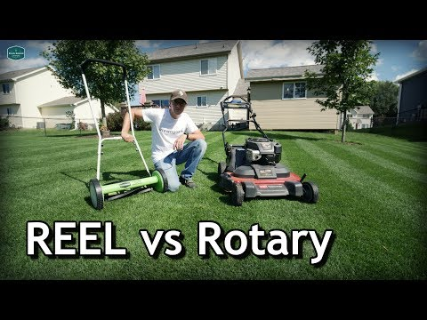 Reel Vs Rotary Lawn Mowers Pros And Cons Cut Quality How To Mow Low Youtube