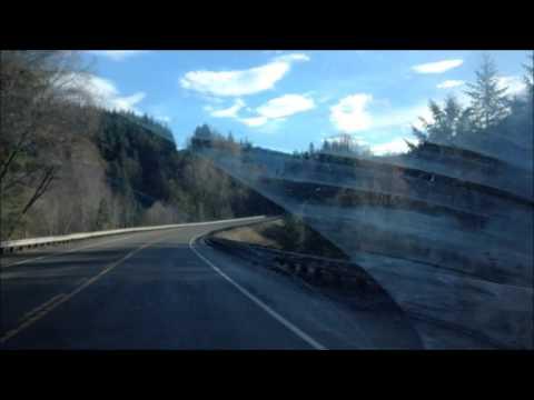 Drive from Morton to Randle; Washington; virtual drive; cyberdrive