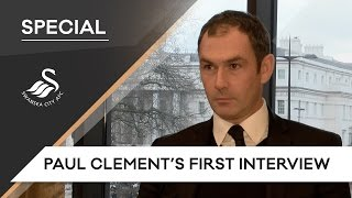 Swans TV - Paul Clement's first interview
