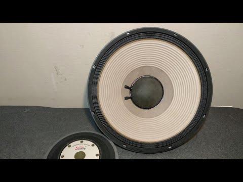 Ремонт нч динамика Soundking FA2226H Замена звуковой катушки, переклейка магнитной системы центровка