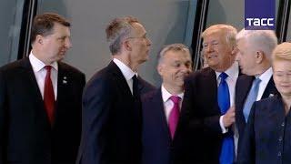 В Белом доме пояснили, почему Трамп отодвинул премьер министра Черногории на саммите НАТО
