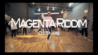 DJ Snake - Magenta Riddim | Dance Choreography | Ankit Sati