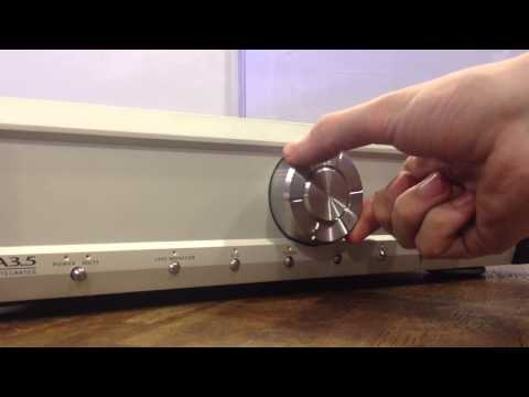 Musical Fidelity A3.5 Amplifier - Knob Feel Review