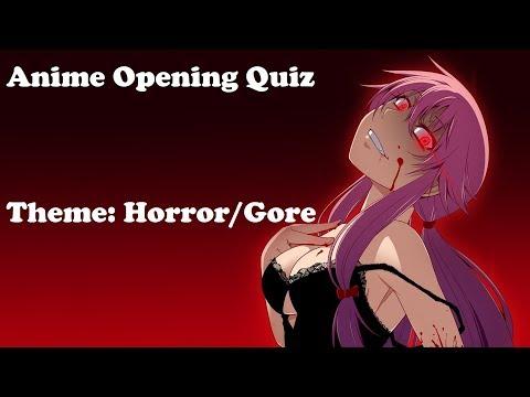 SwiftQuiz - 10 Horror/Gore Anime Openings