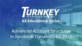 Wie Verwenden von Konto-Strukturen in Microsoft Dynamics AX 2012