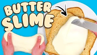 Viral Slime Tested! DIY EASY BUTTER SLIME RECIPE (No Borax, No Clay)