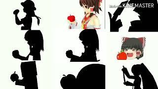 【比較】Bad apple!!  9種比較