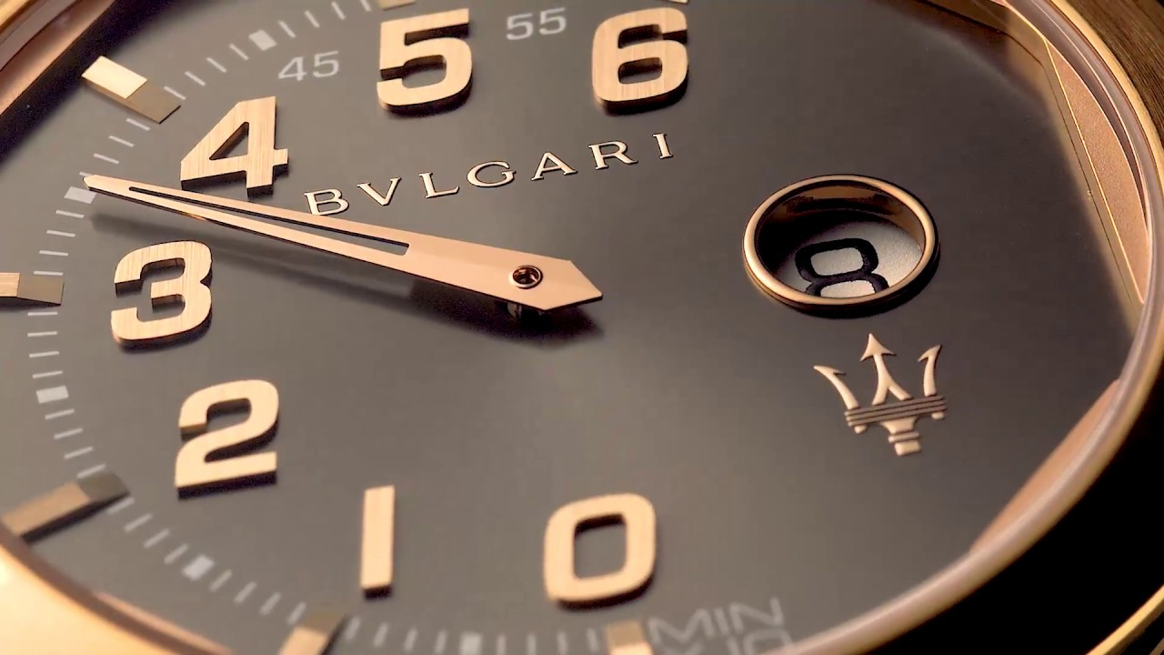 d423b5c0921 Bulgari Introduces New Maserati Timepieces - YouTube