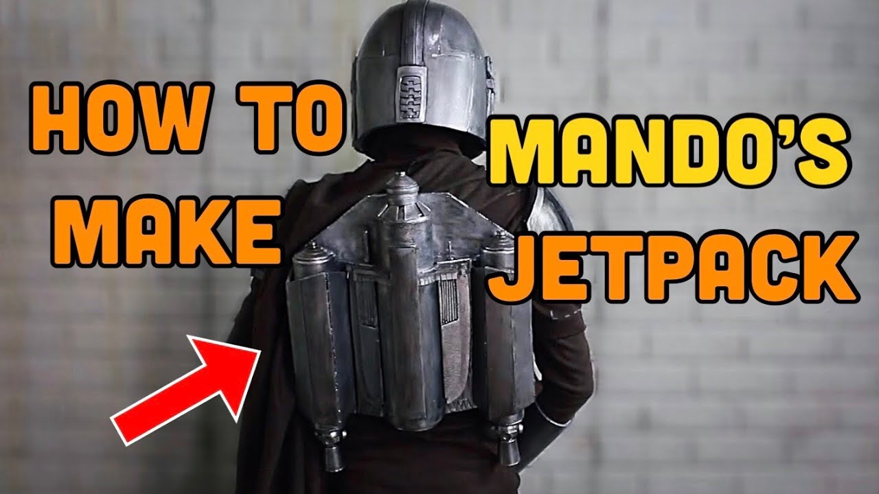 Make Your Own Mandalorian Jetpack! Mando Cosplay ep 5
