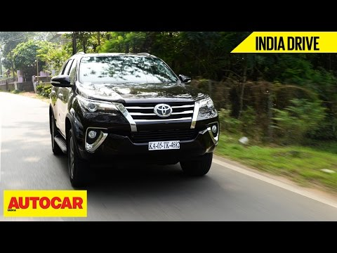 Toyota Fortuner | India Drive | Autocar India