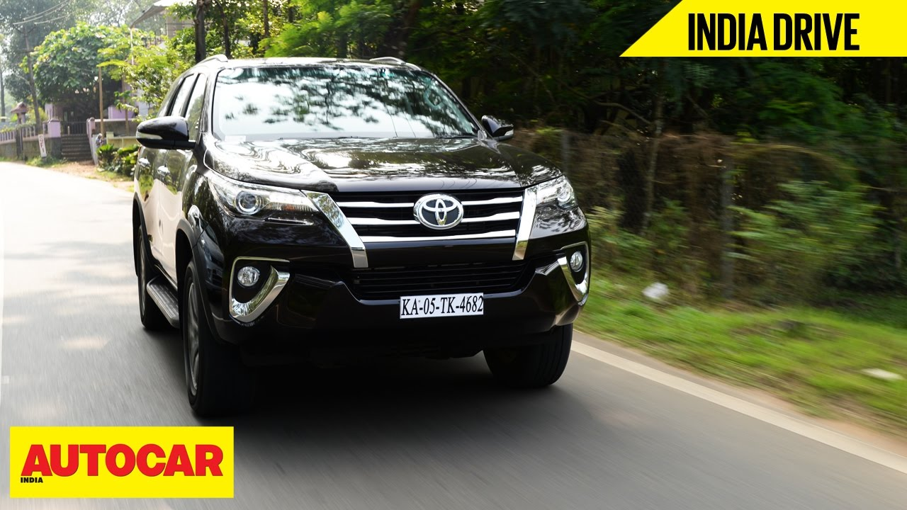 Toyota Fortuner India Drive Autocar India Youtube