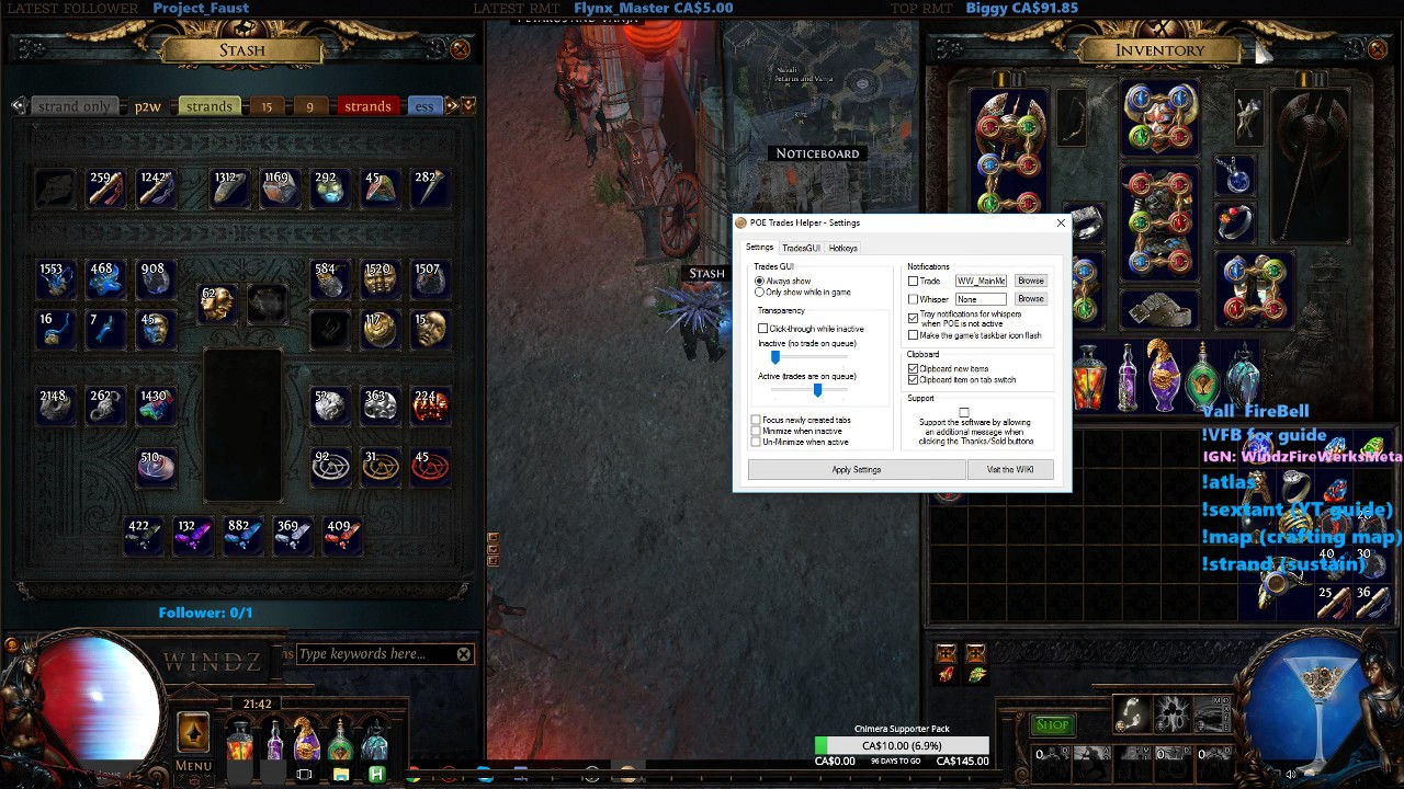 Path of Exile: How to use PoE Trade Helper