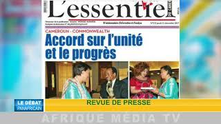 DÉBAT PANAFRICAIN DU 24 12 2017