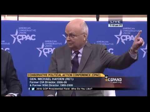 Judge Napolitano vs Michael Hayden CPAC 2015 Privacy vs Security Debate