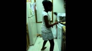 My Sis Jasmine Baking Cookies And Singing