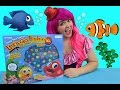 Let's Go Fishin' XL Deep Sea Edition Game | TOY REVIEW | KiMMi THE CLOWN