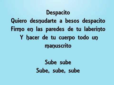 Luis Fonsi   Despacito ft  Daddy Yankee letra