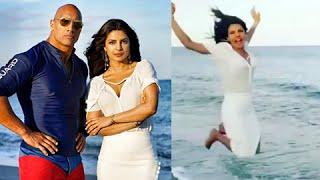 The Rock Declares Priyanka Chopra His Sister In Public   Baywatch